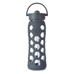 Life Factory Glass Bottle 22oz Carbon