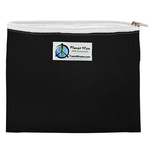 Planet Wise Zipper Sandwich Bag Black
